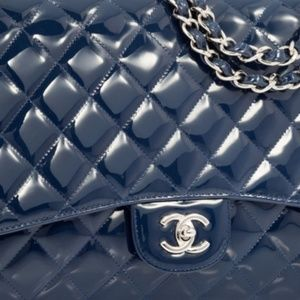 ab22dc61d094 Women Blue Chanel Flap Bag on Poshmark